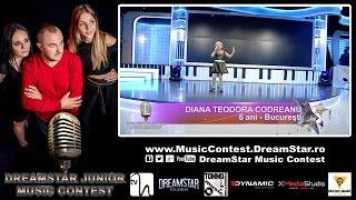 CODREANU DIANA TEODORA - Papusa Rock (voce live) | DreamStar Junior Music Contest | Ed. 1 / Sezon 1