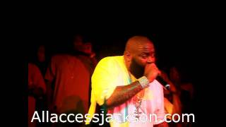 Rick Ross Where My Money, Every Day I'm Hustling- Live from Jacktown