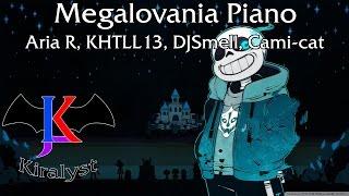 [Undertale] - Megalovania Piano Feat: Aria R, KHTLL13, DJSmell & Cami-Cat