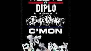 Tiësto Vs Diplo - C'Mon (Dj Bl3NdR0 Remix)