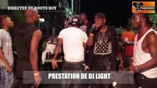 PRESTATION DE DJ LIGHT AU CONCERT LIVE DE DJ LEO AU NPA