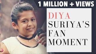 Diya Suriya's Fan Moment | Mithali Raj gifts a bat to Diya | JFW Awards 2017 | JFW Magazine