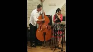 Deus- Voicebass duo, Arianna Rossetti e Giovanni Armanni (Cover Musica Nuda)