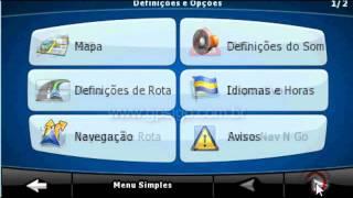 Como saber a versão do mapa no GPS iGO - Atualização GPS 2015