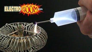 Arcs change shape in my vacuum! RIP Tesla Coil :(