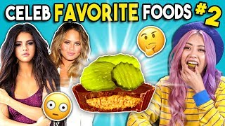 Trying Celebrity Favorite Foods   People Vs. Food