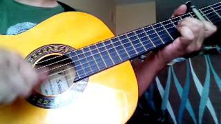 Maracaibera en guitarra española