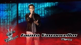 Fausto Vasconcellos - Mercy (Shawn Mendes) | Gala | The Voice Portugal
