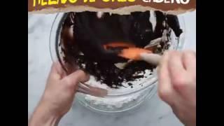 Como hacer helado de OREO