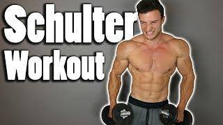 Schnellster Muskelaufbau für die Schulter   Workout im Hypertrophiebereich