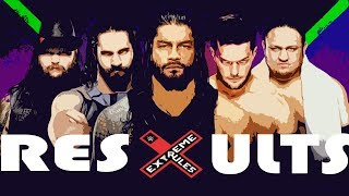 WWE EXTREME RULES 2017 RESULTS (OFFICIAL RESULTS)