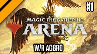 MTG: Arena M19 Quick Drafts - W/R Aggro P1 (sponsored) width=