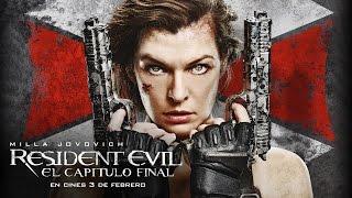 RESIDENT EVIL: EL CAPÍTULO FINAL. Milla Jovovich te pone al día con la saga. Ya en cines.