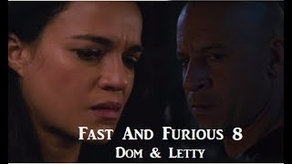 Fast and Furious 8 Dom & Letty