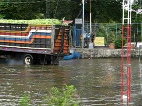 Plantain Truck in Isla de Ometepe