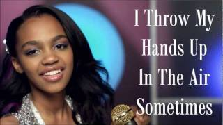 China Anne Mcclain - Dynamite (Lyrics)