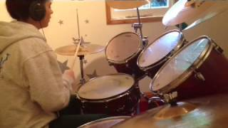 Alex Day and Carrie Fletcher - This Kiss - Drum Cover