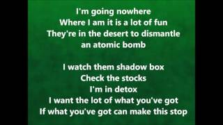 U2 - Fast Cars - Lyrics
