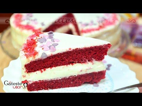 Reteta de Tort Red Velvet