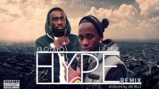 KILO YAYO FT LIL MOF - HYPE ( exclusive remix ) + lyrics
