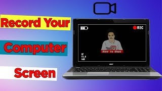 How to Record Your Computer Screen For Free  | How To Urdu width=