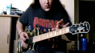 System of a Down - Deer Dance guitar cover - by ( Kenny Giron ) kG