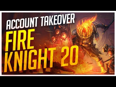 RAID | Account Takeover! | Fire Knight 20!