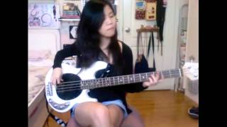 The Wombats - Moving to New York (Bass Cover)