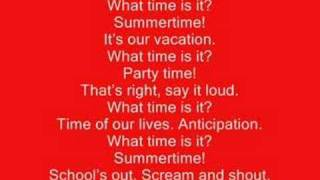 What Time Is It? - High School Musical 2 - Full Lyrics