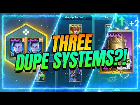 Dupe System FINALLY REVEALED! | RAID Shadow Legends