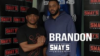 Friday Fire Cypher: Brandon Raps Live on Sway in the Morning