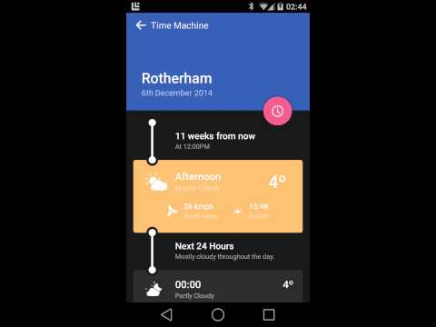 Weather Timeline Ad Free - Forecast 12 4 15 Download APK for Android