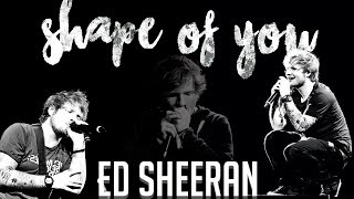 Shape of you - Ed Sheeran. Acoustic Karaoke