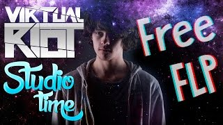 Virtual Riot- Studio Time #3 (Fl Studio Remake)