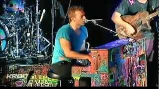 COLDPLAY live 5/5/2012 -  Fight For Your Right - KROQ - Lyrics - 1080p