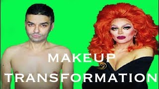 AMAZING FLAWLESS MAKEUP TRANSFORMATION FROM MALE TO FEMALE BOY TO GIRL MAN TO WOMAN