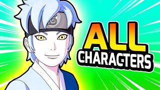 How To Unlock EVERY CHARACTER & MASTER — Naruto Shinobi Striker