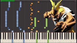 "Boku No Hero Academia - ""My Hero Academia"" (Synthesia Piano)"