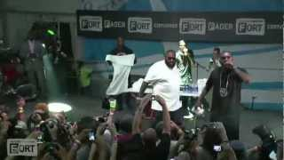 """Rick Ross, """"I'ma Boss"""" Live at the FADER FORT Presented by Converse"""
