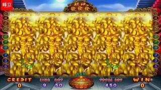 god of wealth caishen fa fa fa 财神发发发 arcade machine