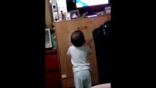 Baby  K feeling happy :-)