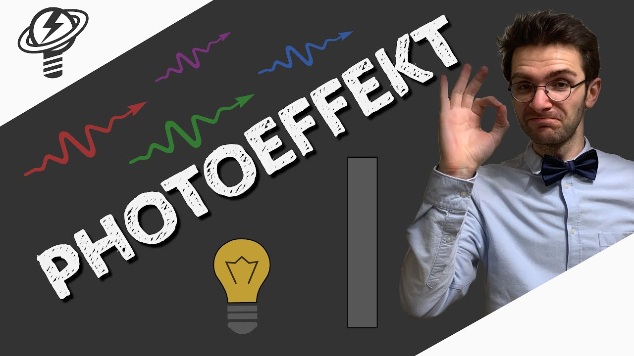 Photoelektrischer Effekt (Photoeffekt) | Video #502