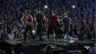 COLDPLAY - Speed of sound (HD) - PARIS STADE DE FRANCE