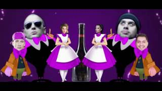 SAJSI MC  X  KRANKŠVESTER  -  PIDŽAMA VINJAK PARTY  (Lyrics video)