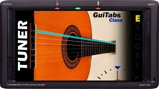 Afinador de Guitarra Clásica Standard 🎸