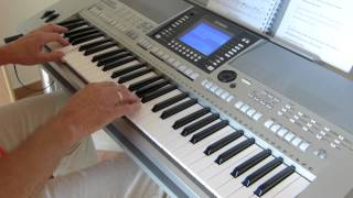Love Is Blue - c'est bleu - Coverversion - Live played on Yamaha PSR-S710