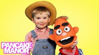 OLD MACDONALD HAD A FARM ♫ | Nursery Rhyme | Kids Songs | Pancake Manor