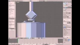 [Blender] S-Mine Modeling Timelapse