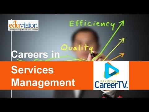 Career in Services Management