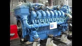 Großdiesel MTU 16 V aus BR218 auf dem Prüfstand